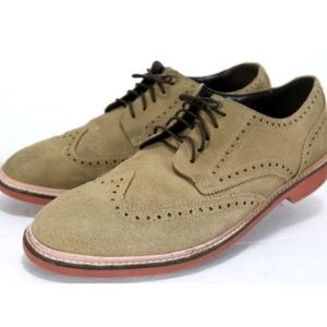 Cole Haan Men's  Shoes Size 11 Suede Leather Tan